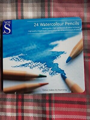 £1.99 • Buy WH Smith Set Of 24 Assorted Colouring Watercolour Pencils