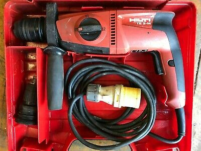 £75 • Buy Hilti Te2-m Sds Hammer Drill, 110v, Sds Hammer Drill With Chisel Action
