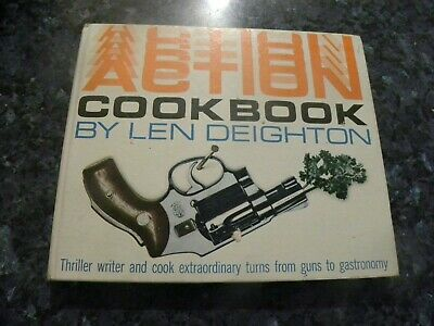 £10 • Buy Action Cook Book By Len Deighton = 1967   - The Cookery Book Club - V.g.c