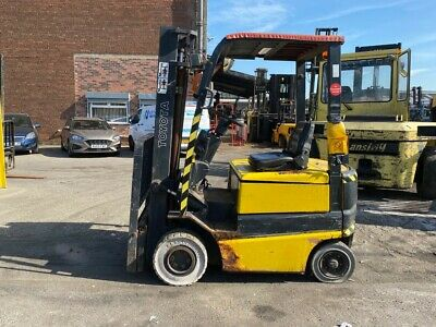£2950 • Buy Used Electric Forklift Truck Toyota FBMF16 1600KG 4 Metre Light Height