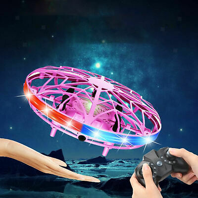 AU31.23 • Buy LED Hand Operated Drones For Kids - Motion Sensor Mini Drone, Two-Way Control