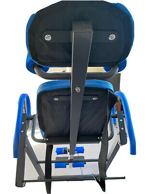 £28 • Buy Exercise Inversion Table Indoor Gym Back Neck Therapy Machine - Blue
