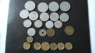 £0.99 • Buy Foreign Coins France X 15 Silver Coloured Coins