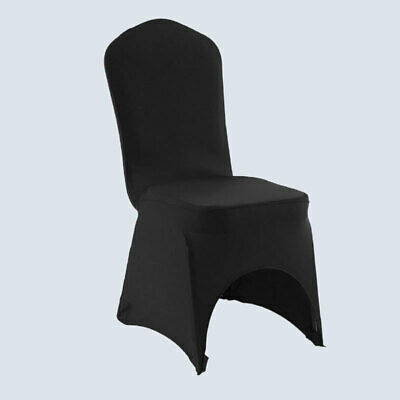 £79.95 • Buy 50/100x Chair Covers Spandex Lycra Dining Seat Cover Wedding Banquet Stretch Fit