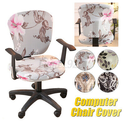 AU12.85 • Buy Office Chair Cover Elastic Computer Chair Cover Stretch Arm Chair Seat Cover AU!