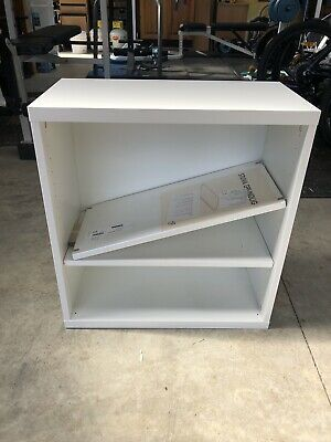 AU30 • Buy IKEA Besta Wall Mounted Cabinet With Shelves 60cm X 64cm X 30cm