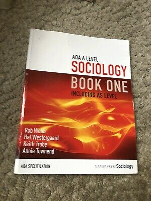 £14.99 • Buy Aqa A Level Sociology Book One Including As Level