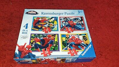 £3 • Buy 4 In A Box Spiderman Puzzle 72 Pieces Altogether Age 3+ Excellent Condition