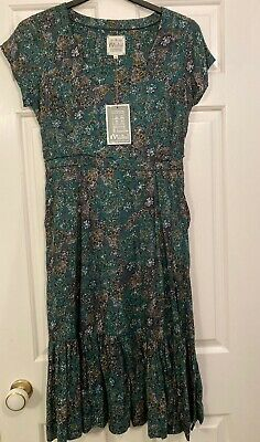 £4.80 • Buy Mistral Dress Size 10, Green, Brand New With Tags