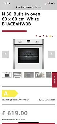 £63 • Buy Built In Electric Neff Single Oven