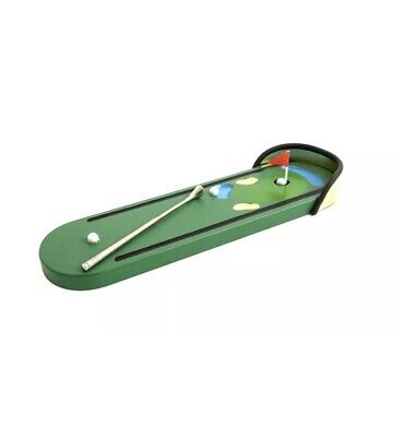 £5 • Buy The FUTON Company Wooden Miniature Tabletop Golf Game