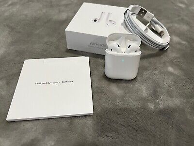 AU71.92 • Buy Apple AirPods 2nd Generation With Wireless Charging Case - White