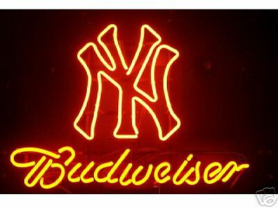 $ CDN298.48 • Buy Budweiser New York Yankees Neon Sign