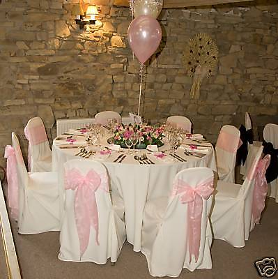 £249.99 • Buy 100 Wedding Chair Covers For Sale White New
