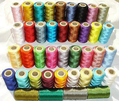 25 Embroidery Machine Thread For Brother,Janome - 25 Different Colors,Great Item • 11.79£