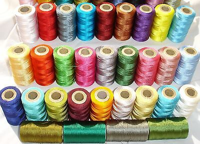 25 Embroidery Machine Thread Spools For Brother,Janome, Singer More, 25 Colours • 11.79£