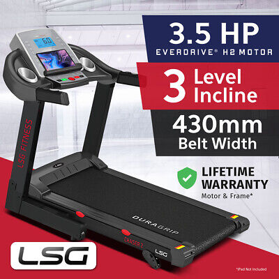 AU749 • Buy Lifespan Fitness New Electric Treadmill Quiet EverDrive® Motor W/ IPad Stand