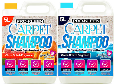 ProKleen Carpet Cleaner Pet Odour Extraction Remover Upholstery Cleaning Shampoo • 20.95£