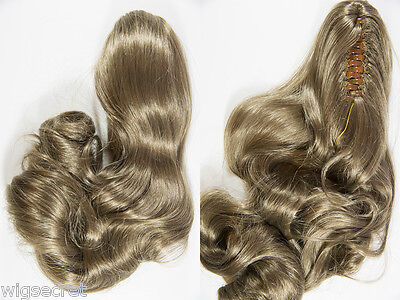 $37.44 • Buy Glamour In Moments With 24 In Long Wavy Claw Clip Extension In 35 Colors Hair Pc