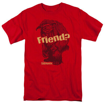 e4ceed8a1 Jim Henson David Bowie Labyrinth Ludo Friend Licensed Adult T Shirt • 23.95$