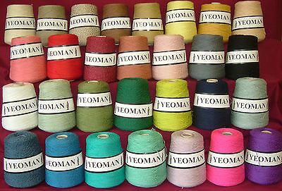 Yeoman Panama Yarn 50% Cotton 50% Acrylic 400g 4ply Choice Of Colours • 13.95£