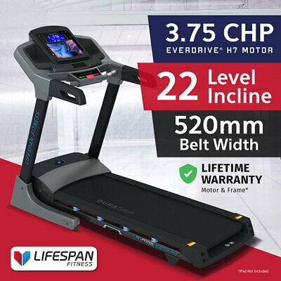 AU2399 • Buy Lifespan Fitness VIPER M3 Home Light Commercial Treadmill 3.75CHP Motor FitLink