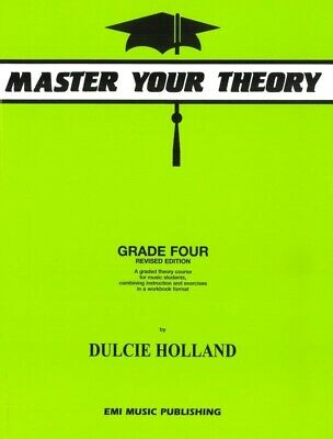 AU17.96 • Buy Master Your Theory Grade 4 Book By Dulcie Holland Lime Green