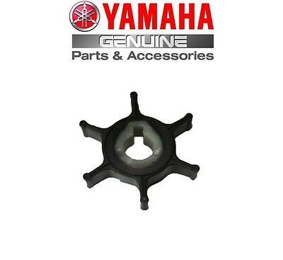 Yamaha Genuine Outboard Water Pump Impeller P45/ 2A / 2B / 2C (646-44352-01) 2hp • 10.93£