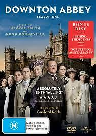 Downtown Abbey Season One Dvd Tv Show Maggie Smith Bonus Disc Included New • 19.03£