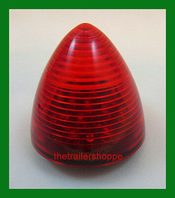 $9.95 • Buy Maxxima 2-1/2  Round Beehive Side Clearance Marker Light 13 LED Red
