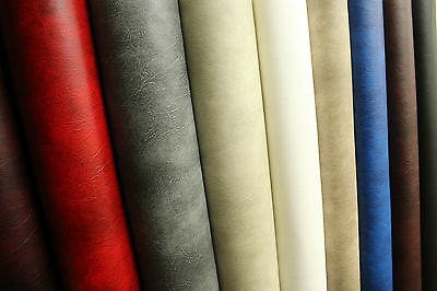 Faux High Quality Leather Material Leatherette Pvc Vinyl Upholstery Fabric • 0.99£