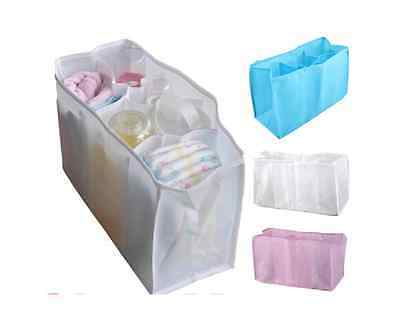 £3.29 • Buy  NEW Baby Organizer Bag Portable Diaper Nappy Bottle Changing Divider Storage