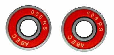 £3.49 • Buy 2 Wheel Bearings Abec7 Abec 11 For Pro Stunt Scooter Compatible With Mgp Slamm