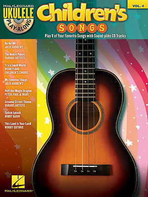 AU31.95 • Buy Ukulele Play-Along Volume 4 : Children's Songs Book And CD *NEW* Sheet Music