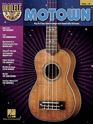 AU27.95 • Buy Ukulele Play-Along Volume 10: Motown Book And CD *NEW* Sheet Music, Song