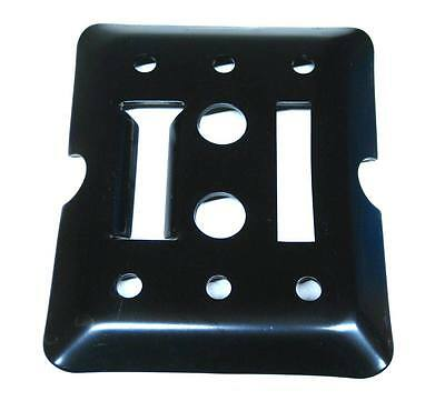 $35.79 • Buy 12 E Track Tie Down Plates Bolt On For Enclosed Trailer Cargo Van Toy Hauler
