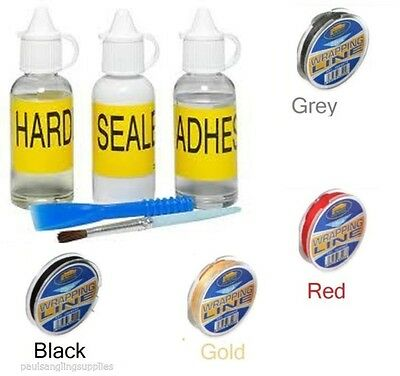 Seymo Rod Building Epoxy Finish For Rod Rings Rod Repair Whipping Thread Options • 5.21£