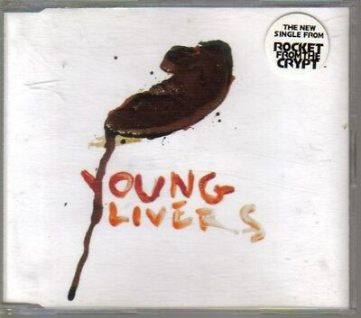 Rocket From The Crypt - Young Livers - Rare UK CD • 4.99£