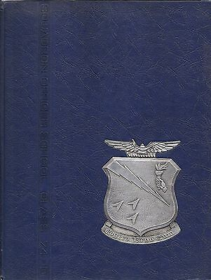 $33.99 • Buy Military Yearbook Maxwell Air Force Base USAF Squadron Officer School 74-D 1974