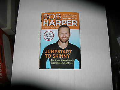 Jumpstart To Skinny (Weight Loss) By Bob Harper (2013) SIGNED 1st/1st • 35.64£