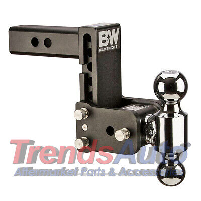 $ CDN290.28 • Buy B&W Hitches TS10037B Tow & Stow 5-5.5  Adjustable Dual Ball Mount Receiver Hitch