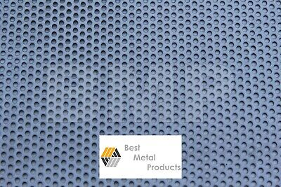 £13.35 • Buy 304 STAINESS STEEL PERFORATED SHEET .040  X 12  X 24  -  1/8 HOLES 0600102