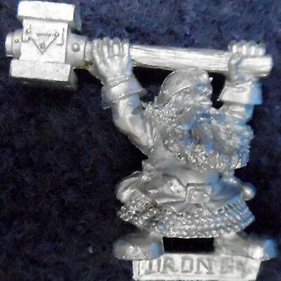 1996 Dwarf General Grudge Of Drong Command Group Hammerer Citadel Warhammer Army • 24£