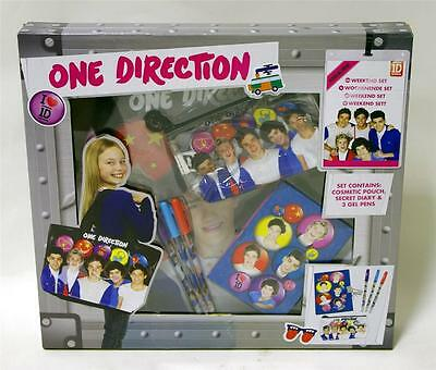 New One Direction 1d Weekend Set Includes 1d Bag Secret Diary Cosmetic Pouch Pen • 7.99£