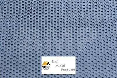 £42.63 • Buy 304 STAINLESS STEEL PERFORATED SHEET .040  X 24  X 36  - 1/8 HOLES 0600104