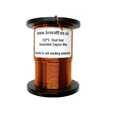 £9.40 • Buy 16SWG ENAMELLED COPPER WIRE, MAGNET WINDING WIRE, COIL WIRE - 250 Gram Spool