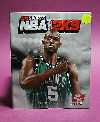 AU2.70 • Buy Instruction Booklet/manual Only For Nba 2k9 Ps3 (no Game) 📮 Oz Seller