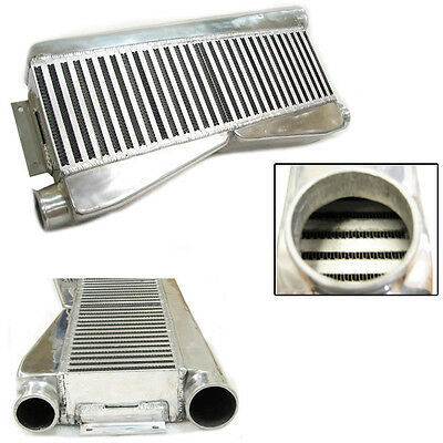 $266 • Buy REV9 UNIVERSAL TWIN TURBO INTERCOOLER FMIC 28x12x3 /2 INLET /1 OUTLET /  800HP