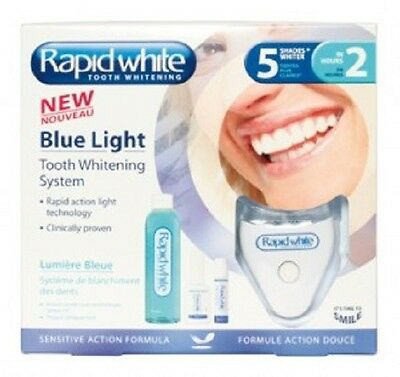 AU76 • Buy Rapid White Blue Light Tooth Whitening System-brighter Teeth W/o Peroxide