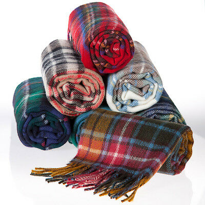 £19.99 • Buy Tartan Scarf Choice Of Tartans Pure New 100% Wool For Kilts Sporrans ON SALE NOW
